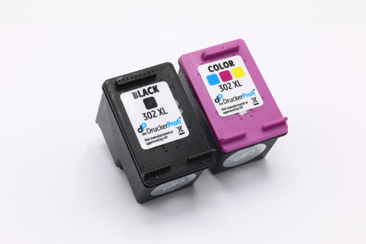 Kompatibel zu HP 302 XL Multipack Tinte schwarz + color