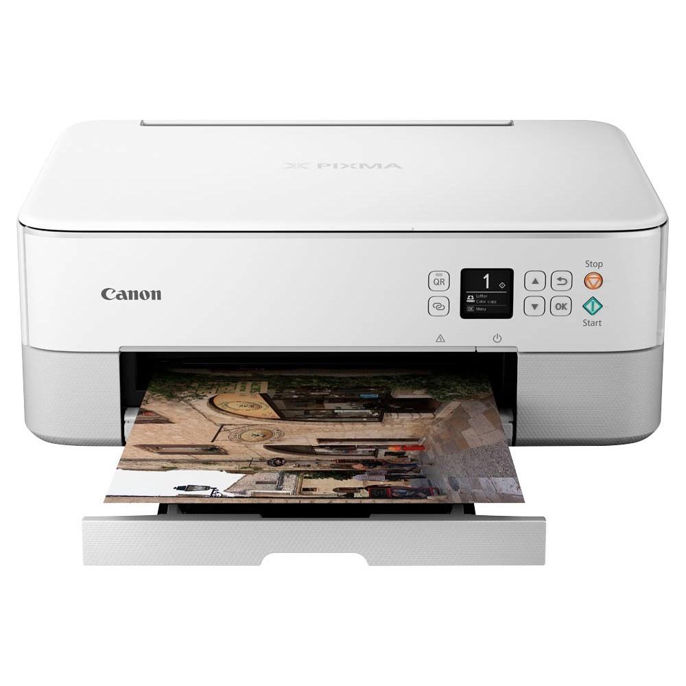 Canon PIXMA TS5350 3 in 1 Farb-Tintenstrahldrucker, Weiß