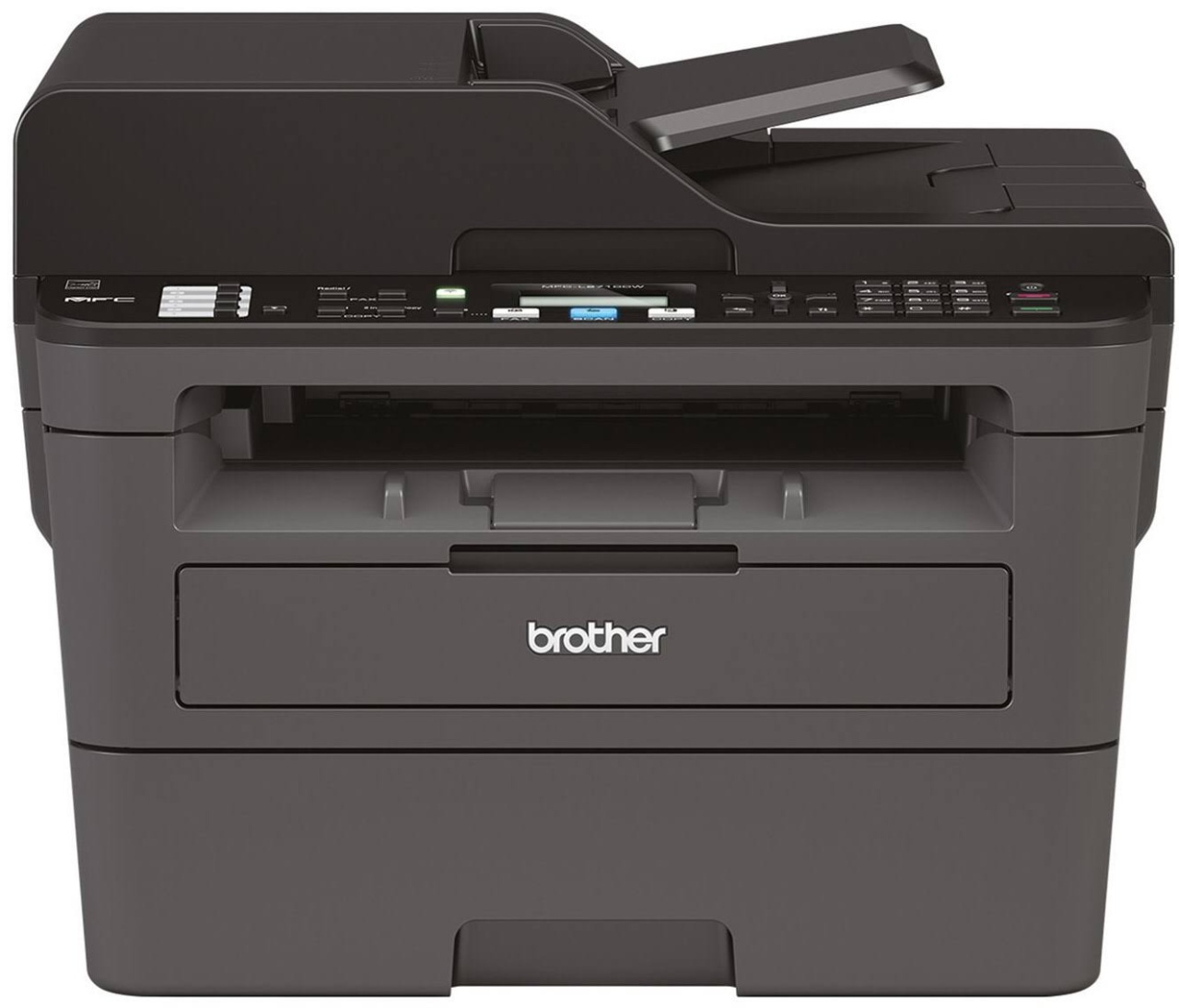 Brother MFC-L2710DW, 4-in-1 Multifunktions-Laserdrucker