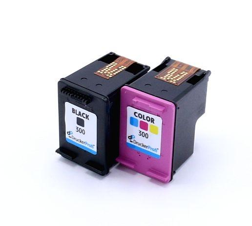 Kompatibel zu HP 300 MultiPack Tinte schwarz + color