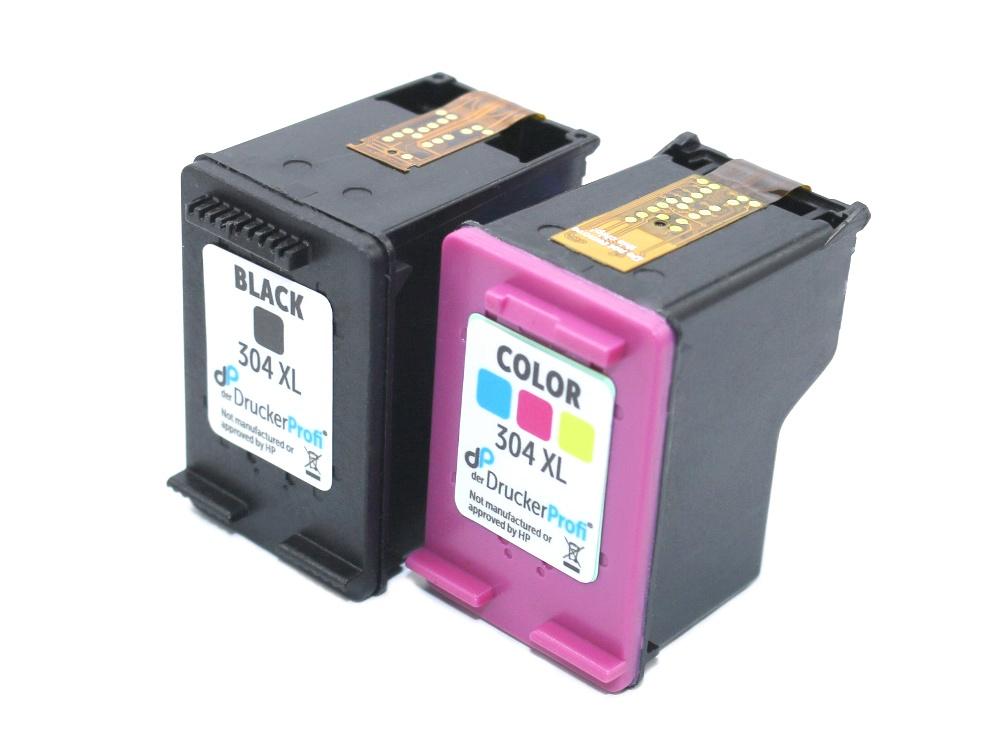 Kompatibel zu HP 304 XL Multipack Tinte schwarz + color