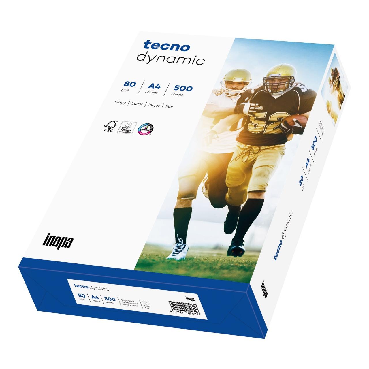 TECNO Dynamic FSC Papier 80 g/m², DINA4 holzfrei weiß