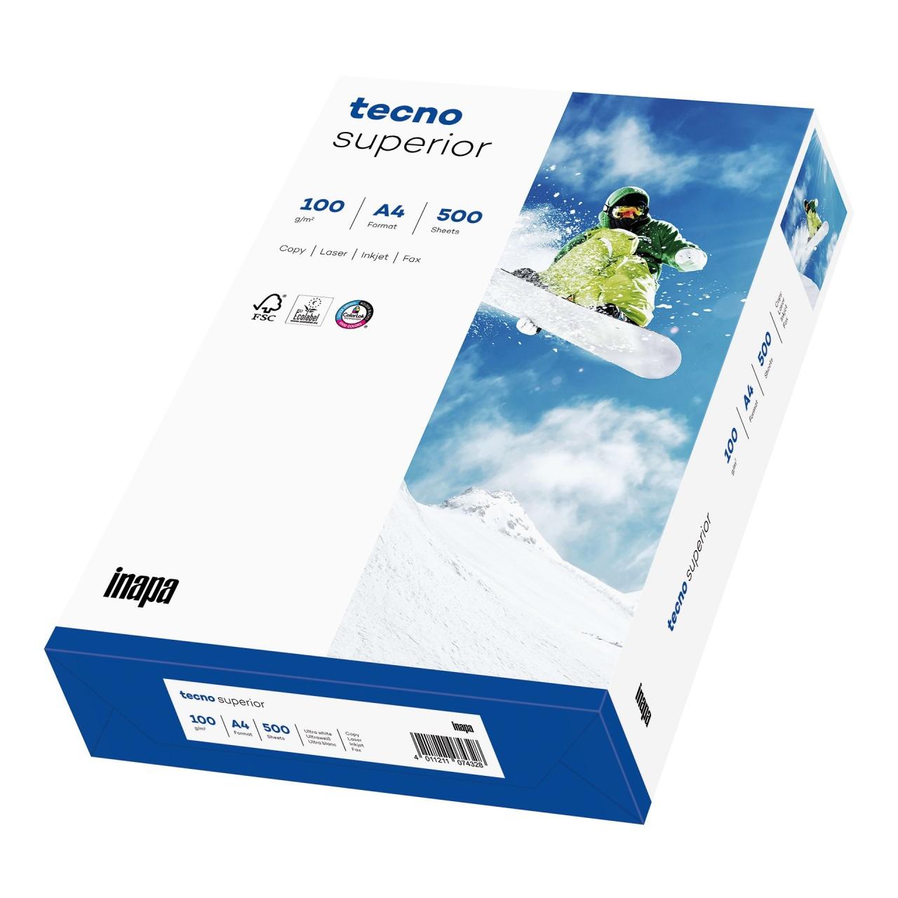 TECNO Superior FSC Papier 100 g/m², DIN A4