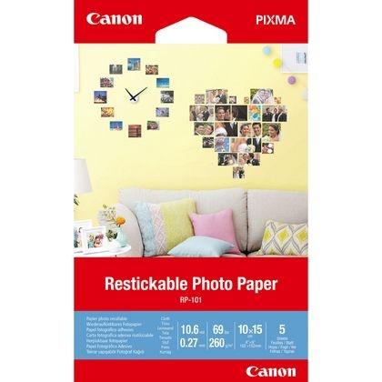 Canon RP-101 Wiederaufklebbare Foto-Sticker, 10x15cm, matt